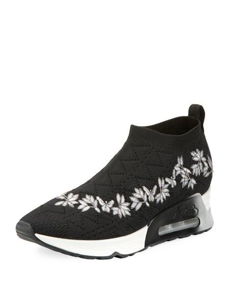 Ash Lolita Embroidered Slip-On Sneaker