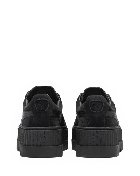 Cleated Suede Creeper Sneaker