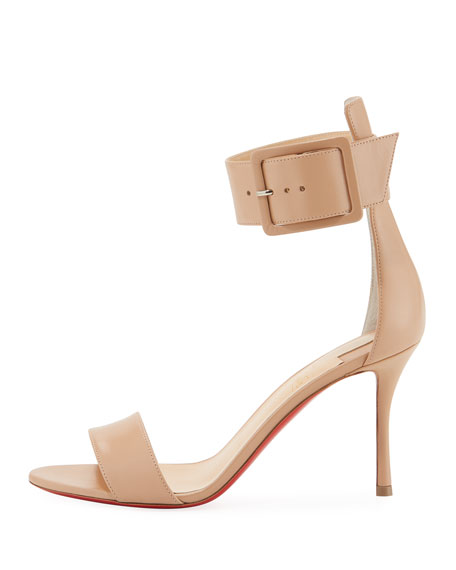 Blade Runana Ankle-Wrap Red Sole Sandal