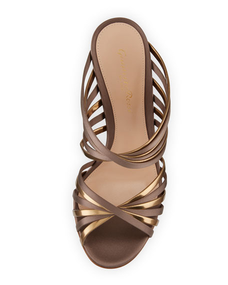 XX Two-Tone Metallic Sandal