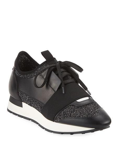 Balenciaga Classic Stretch-Leather Sneaker