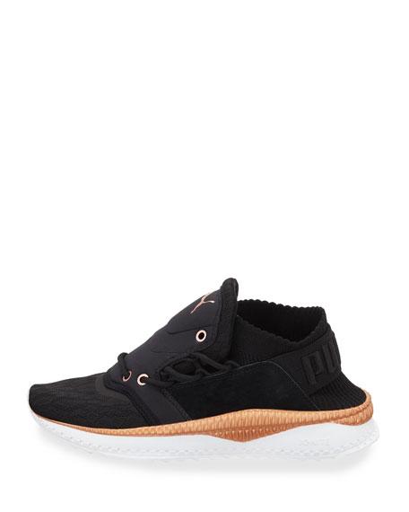 Tsugi Shinsei Knit Trainer Sneakers, Black