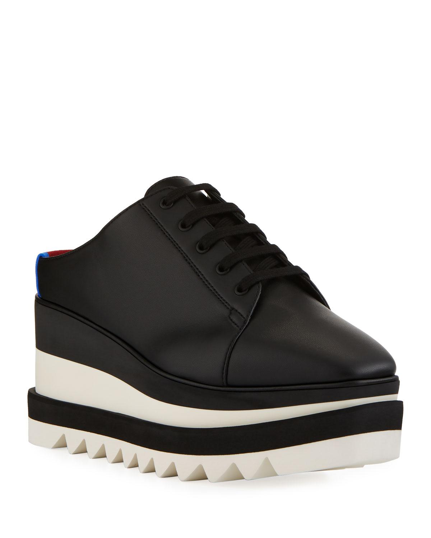 a09caf2936365 Stella McCartney Sneakelyse Platform Slide Sneakers