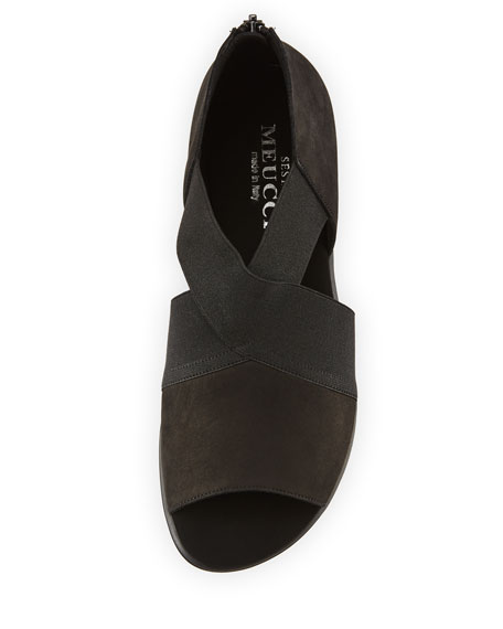 Elmine Comfort Stretch Slip-On, Black