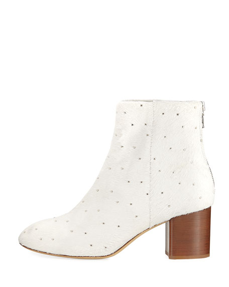 Drea Calf Hair Studded Bootie