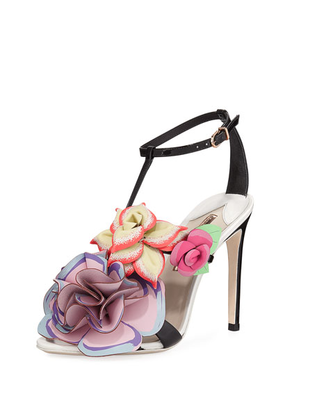 Sophia Webster Jumbo Lilico Patent Leather Sandal