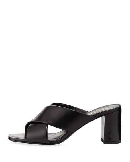 Loulou Leather Mule Sandal