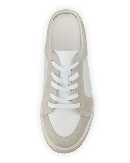 Kess Mixed Leather Mule Sneakers