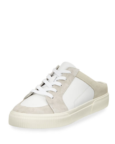 Kess Mixed Leather Mule Sneaker
