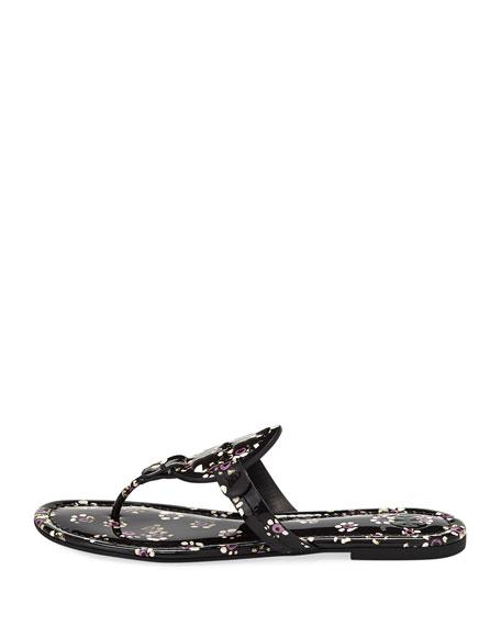 Miller Striped Flat Thong Sandal