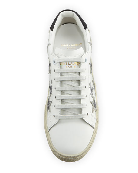 Court Classic Low-Top Sneaker with Stars