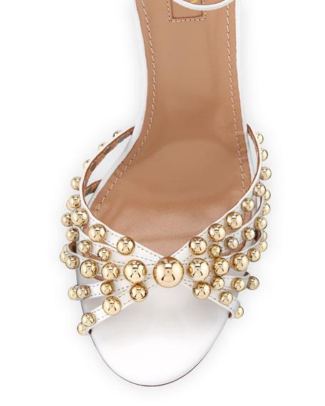Bon Bon Beaded Ankle-Strap Sandal