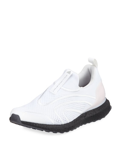 Ultra Boost Uncaged Fabric Sneaker, White/Stone