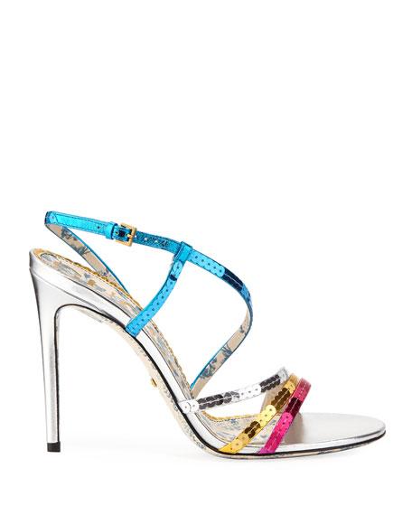 105mm Hainse Sequin Sandal