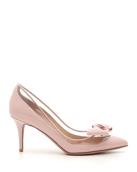 DollyBow Patent 75mm Pump, Pink