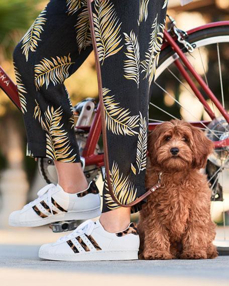 Superstar Leopard Sneakers