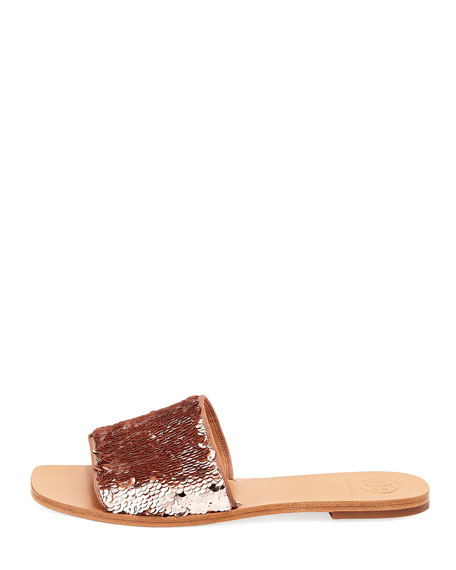 Carter Sequined Slide Sandal
