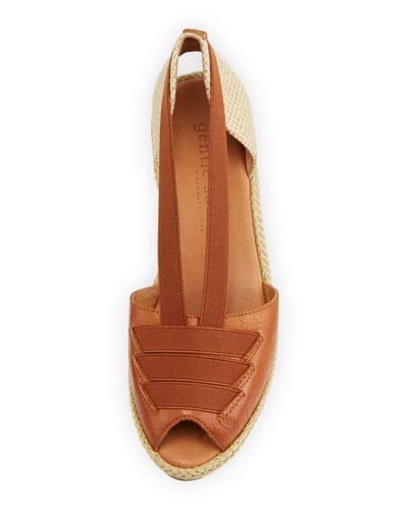 Luci Espadrille Leather Sandal