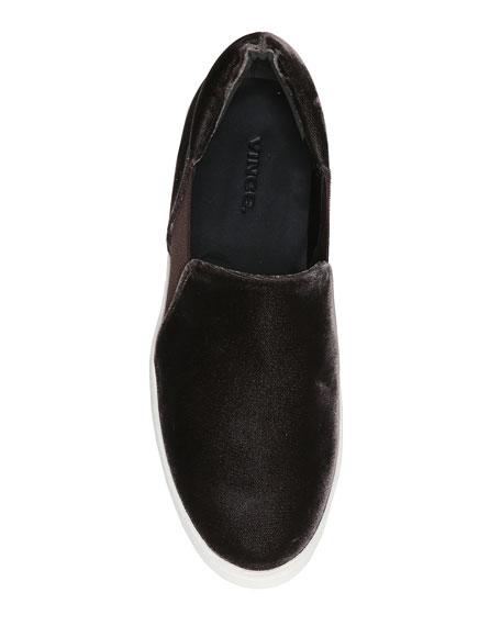 Warren Velvet Platform Sneakers