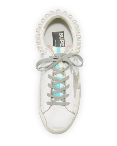 Superstar Pearly Necklace Sneakers