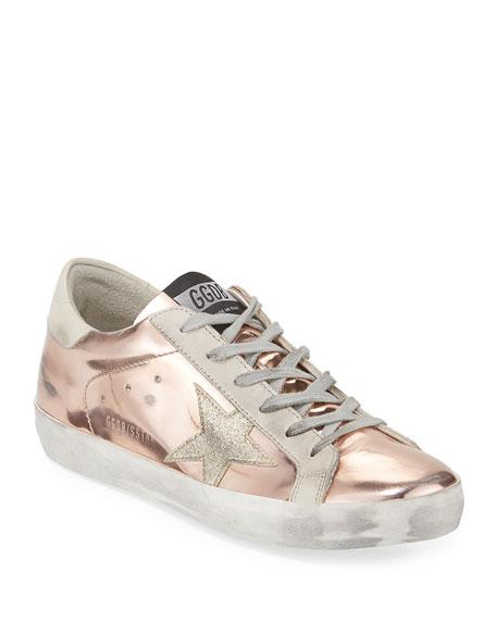 Golden Goose Superstar Metallic Platform Sneaker