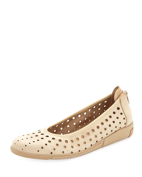 Dova Perforated Nubuck Slip-On