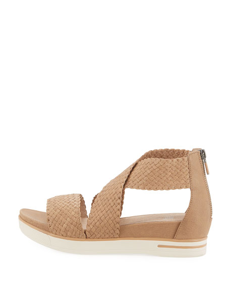 Sport Woven Platform Sandal