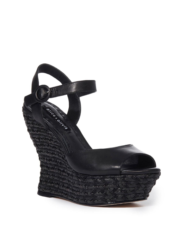 a4d21ecb83c4 Alice + Olivia Jana Wedge Platform Sandal