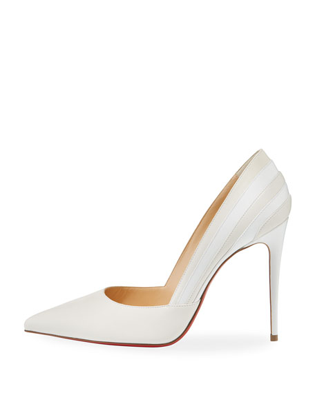 Super Point-Toe Red Sole Pump