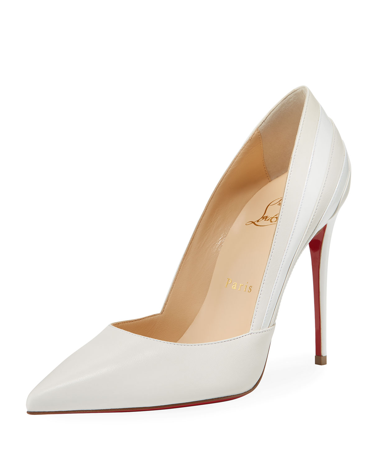 0068a7c99cfc Christian Louboutin Super Point-Toe Red Sole Pumps
