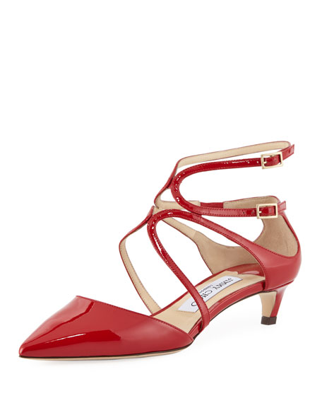 Jimmy Choo Lancer 35mm Patent Leather Pump