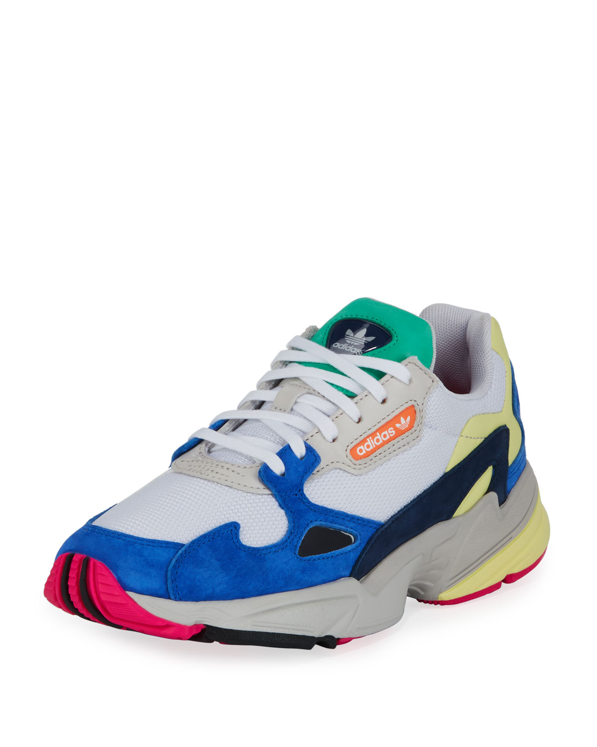 promo code 846c0 06cb4 Adidas Falcon Women s Mixed-Media Sneaker