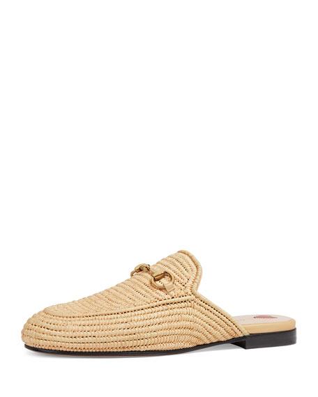 V2l6n8z6o5 Princetown raffia slippers ZbE2oLCIn