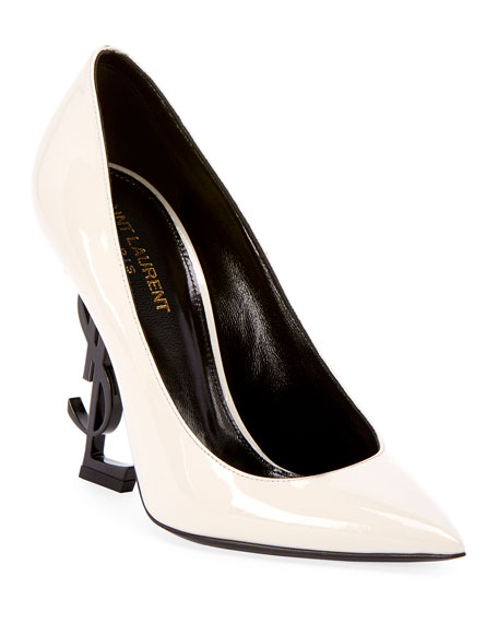 Saint Laurent Patent 110mm YSL-Heel Pump