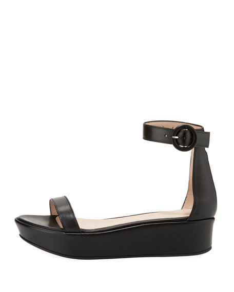 Capri Wedge Platform Sandals