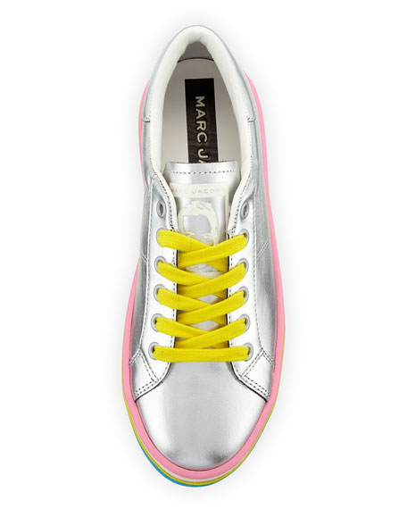 Empire Multicolor-Sole Metallic Sneaker