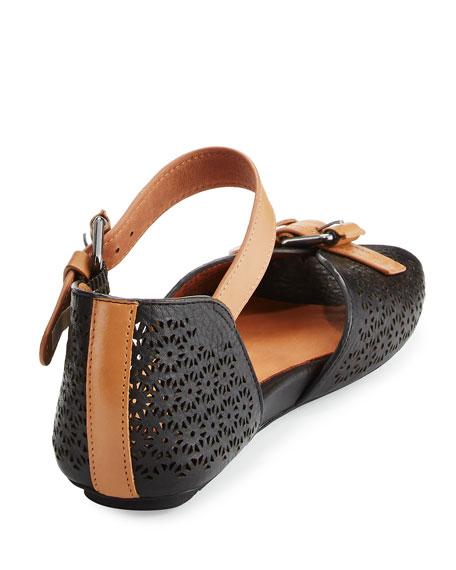 Bessie Laser-Cut Sandal