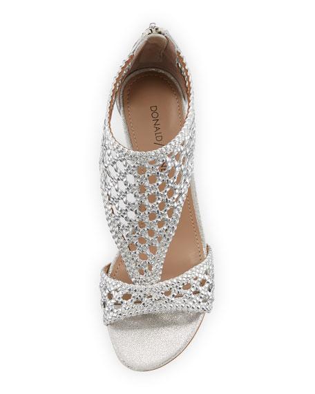 Verna Woven Low Sandal
