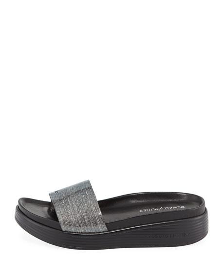 Fiji Sparkle Platform Sandal