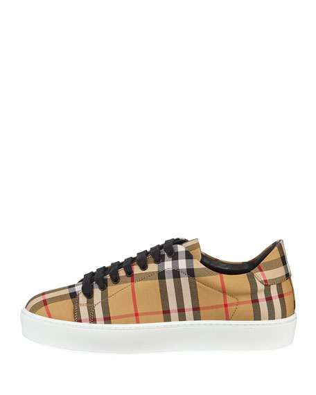 Westford Vintage Check Low-Top Sneakers