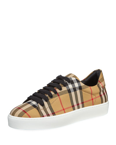 Westford Vintage Check Low-Top Sneaker