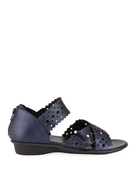 Evie Perforated Comfort Sandal