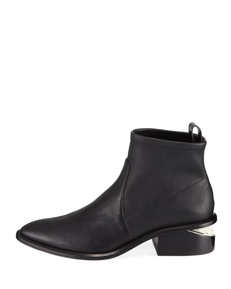 Kori Stretch Leather Booties