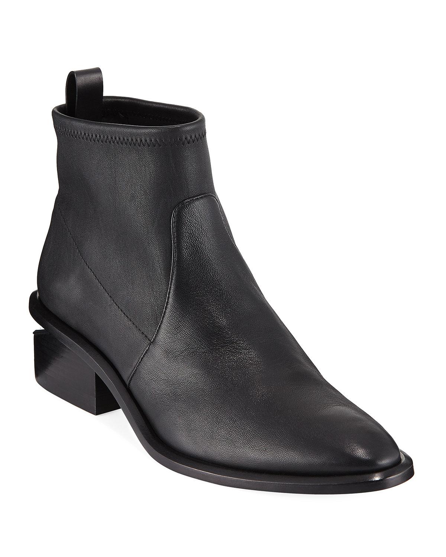 42a2da945d56 Alexander Wang Kori Stretch Leather Booties