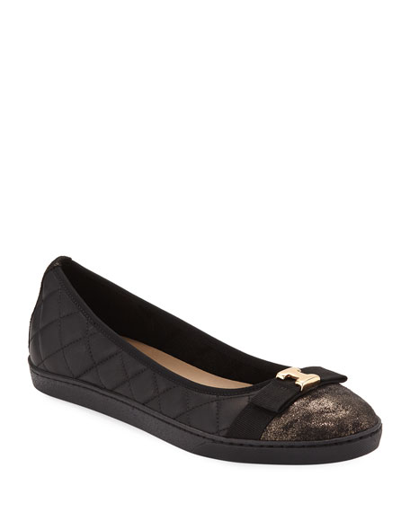 Sesto Meucci Fanya Quilted Napa Leather Ballerina Sneakers