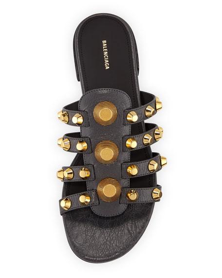 Giant Studded Leather Sandal