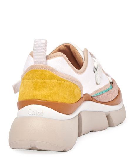 Sonnie Multicolor Buckle Sneakers