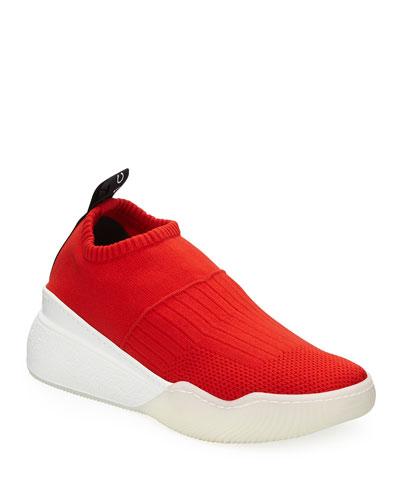 Loop Sock Nylon Platform Sneakers