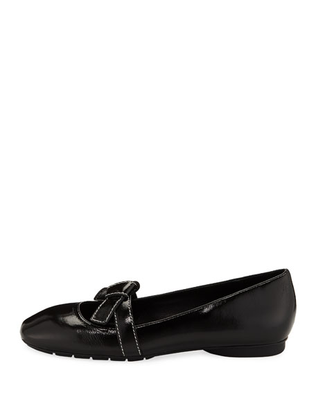 Dazie Easy Bow Skimmer Mary Jane Flats
