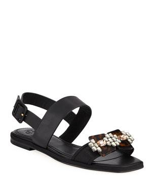 00f62c3b1d7339 Women s Contemporary Designer Sandals at Neiman Marcus
